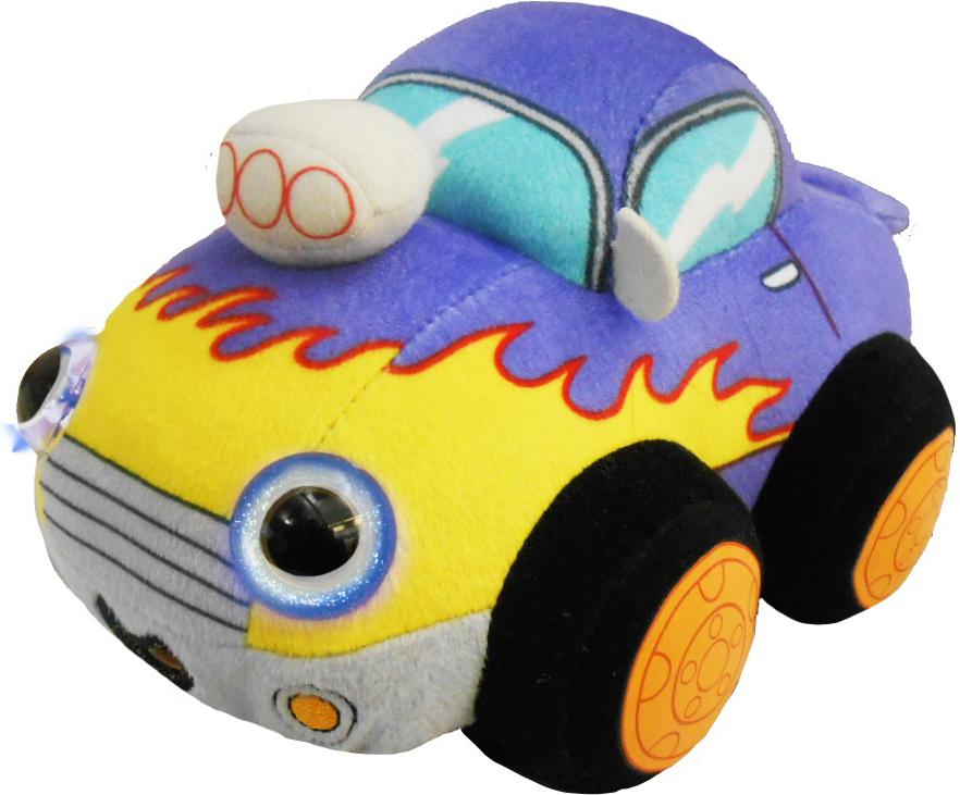 1TOYМягкая озвученная игрушкаДразнюка-Биби Автомобильчик 15 см мягкая озвученная игрушка пес шарик 34 см