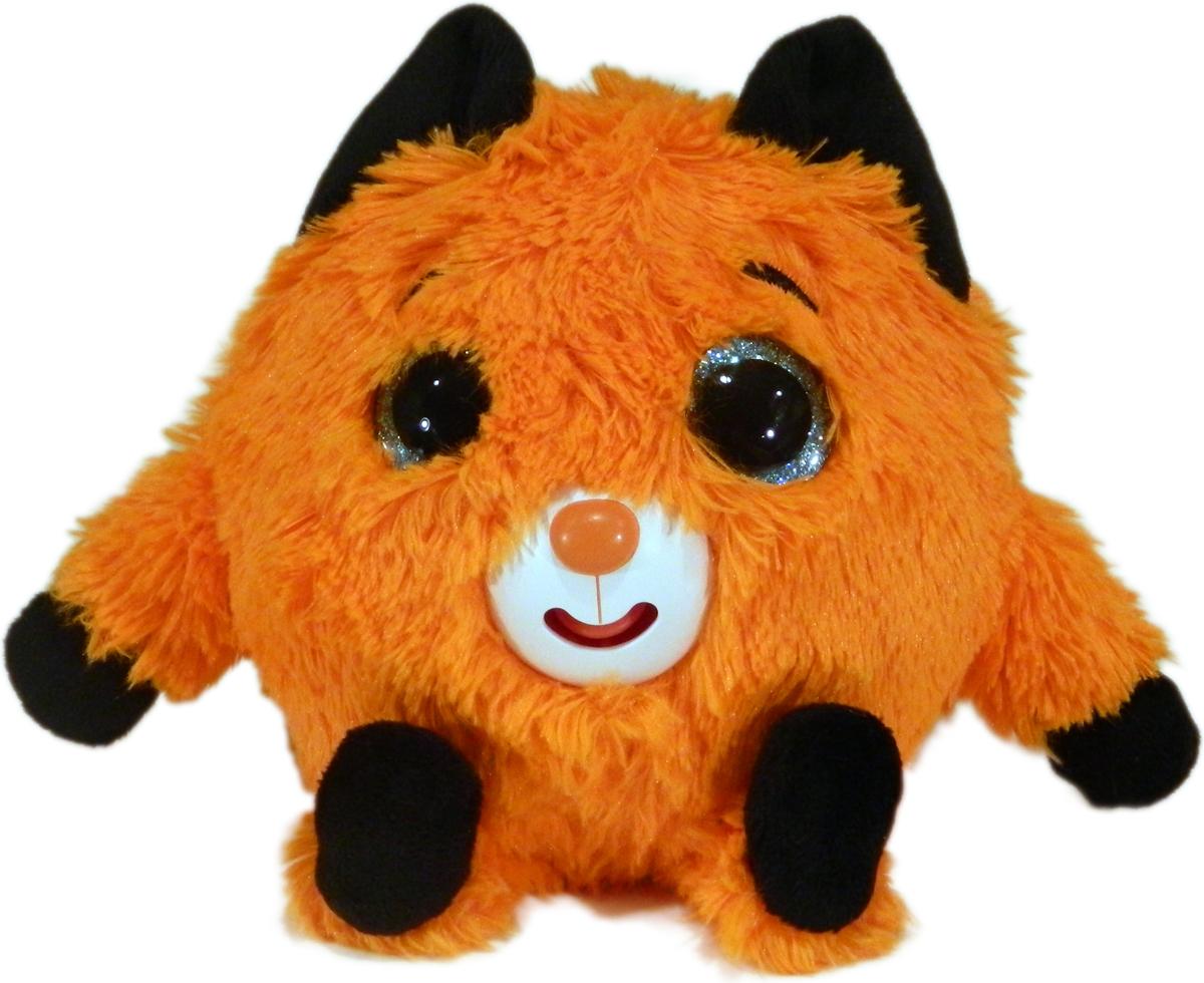 1TOYМягкая озвученная игрушка Дразнюка-Zoo Лисичка 13 см спрей моющий для дезинфекции и ликвидации запахов zoo clean зоосан