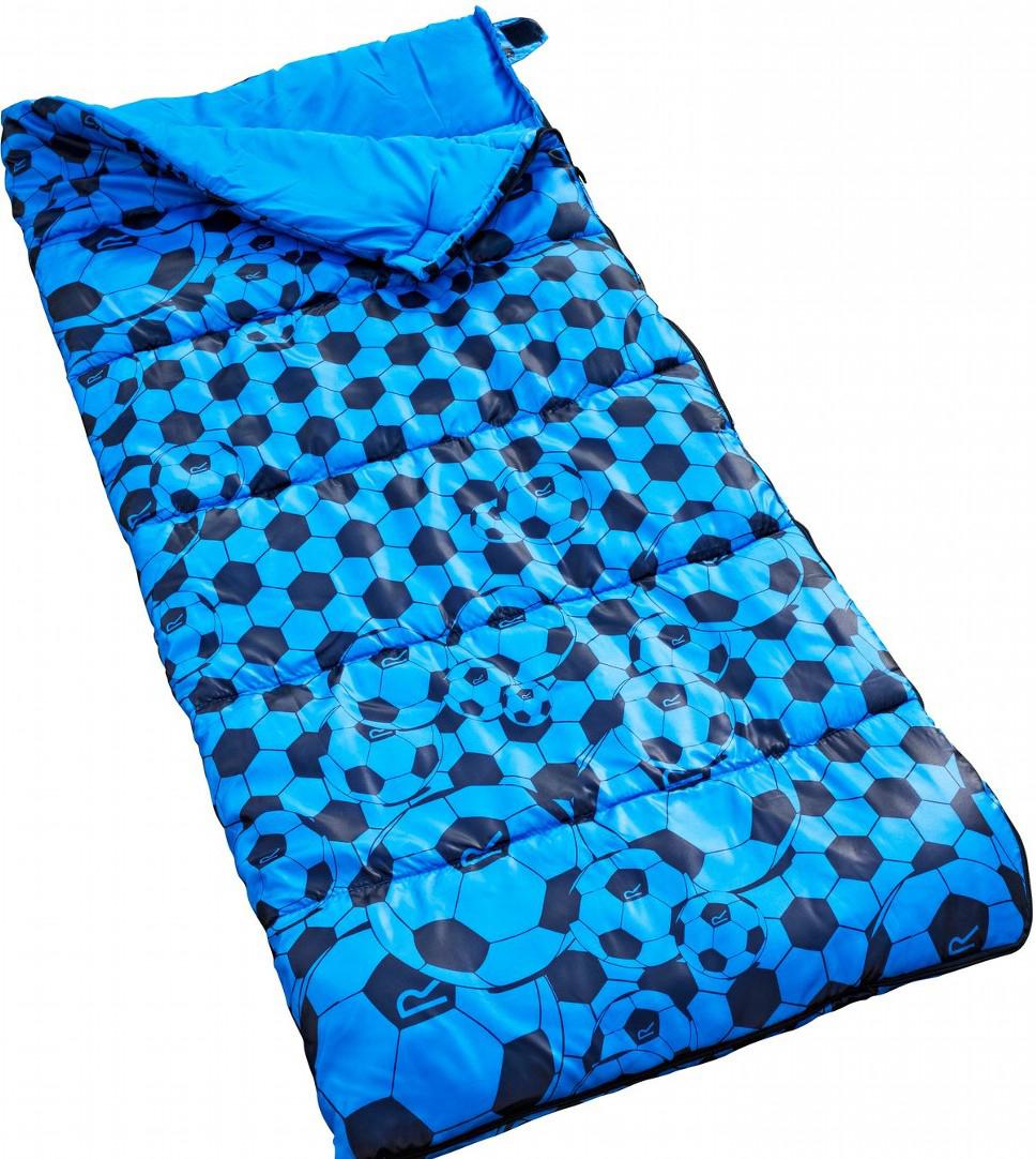 Мешок спальный Regatta Maui Kids, цвет: синий, левосторонняя молния, 145 x 65 см