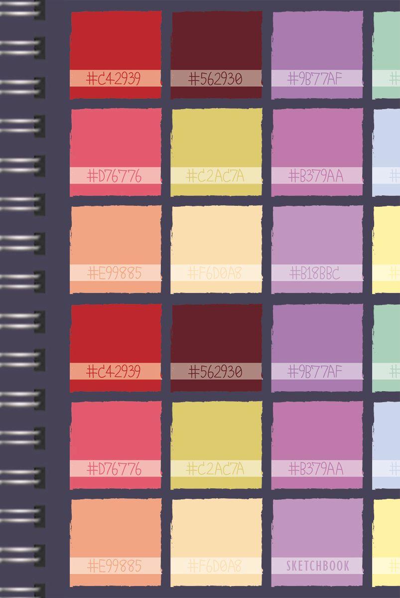 Listoff Скетчбук Цветовой калейдоскоп 100 листовТС51004590Скетчинг – современное увлечение, способ самовыражения, отражение впечатлений в путешествии или просто возможность занять время в ожидании. В скетчбуках Канц-Эксмо бумага плотностью 100г/м2, которая идеально подходит для ежедневных зарисовок самыми разными письменными и художественными принадлежностями. Широкая евроспираль позволит беспрепятственно вклеивать памятные открытки и билеты. Будьте творческими каждый день со скетчбуками от Канц-Эксмо!
