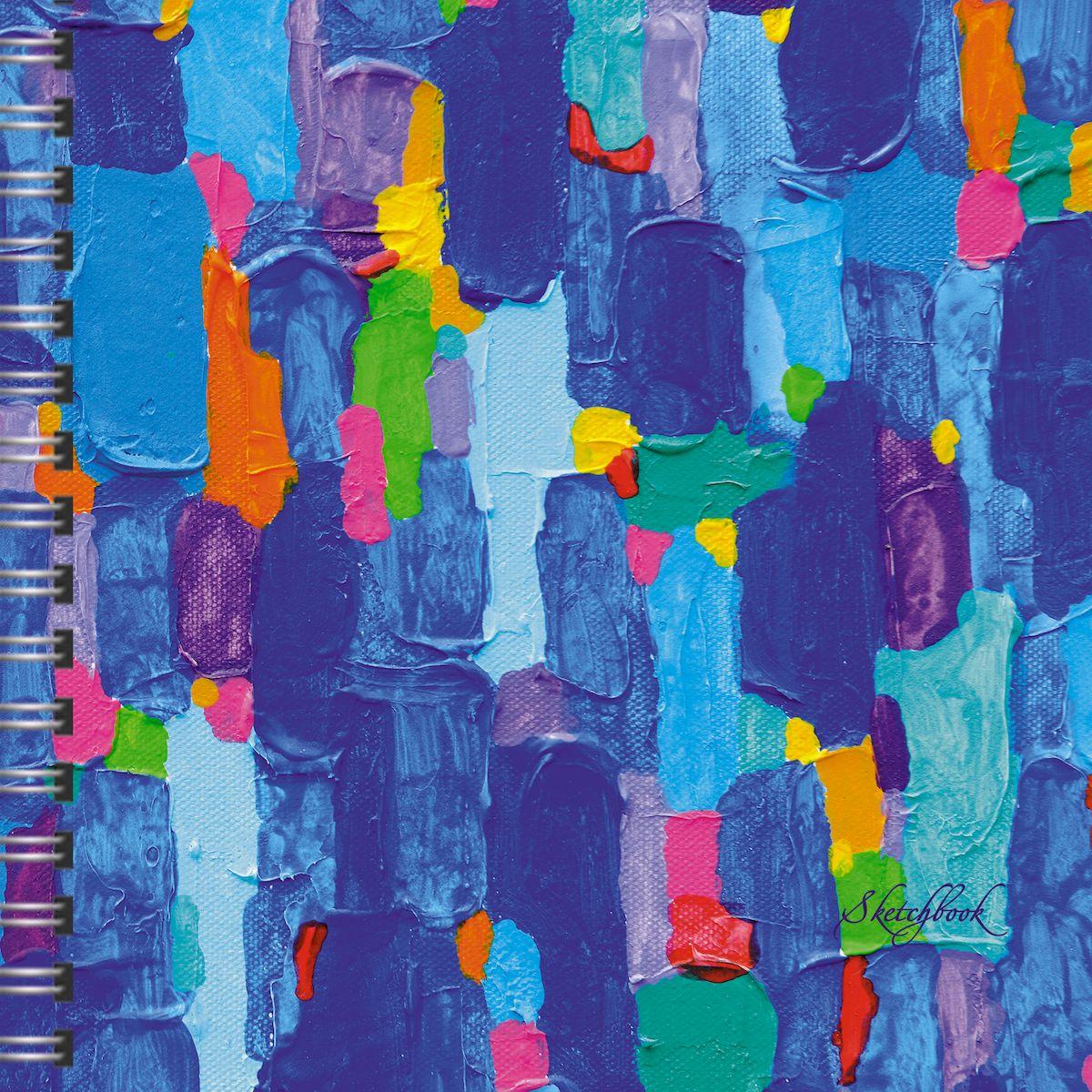 Listoff Скетчбук Лазурная палитра 80 листовТС5804487Скетчинг – современное увлечение, способ самовыражения, отражение впечатлений в путешествии или просто возможность занять время в ожидании. В скетчпадах Канц-Эксмо внутренний блок состоит из бумаги плотностью 100г/м2, которая идеально подходит для ежедневных зарисовок самыми разными письменными и художественными принадлежностями. Новый формат скетчбуков А5 с евроспиралью сверху станет легким и удобным спутником как для взрослых, так и для маленьких обладателей творческих талантов.