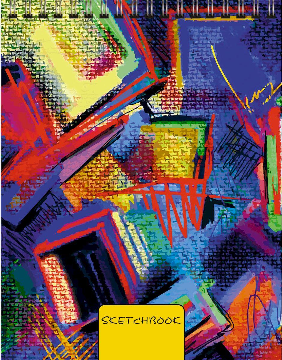 Listoff Скетчбук Яркий холст 80 листовТС6804499Скетчинг – современное увлечение, способ самовыражения, отражение впечатлений в путешествии или просто возможность занять время в ожидании. В скетчбуках Канц-Эксмо бумага плотностью 100г/м2, которая идеально подходит для ежедневных зарисовок самыми разными письменными и художественными принадлежностями. Новый формат скетчбуков А6 с евроспиралью сверху станет легким и удобным спутником как для взрослых, так и для маленьких обладателей творческих талантов.