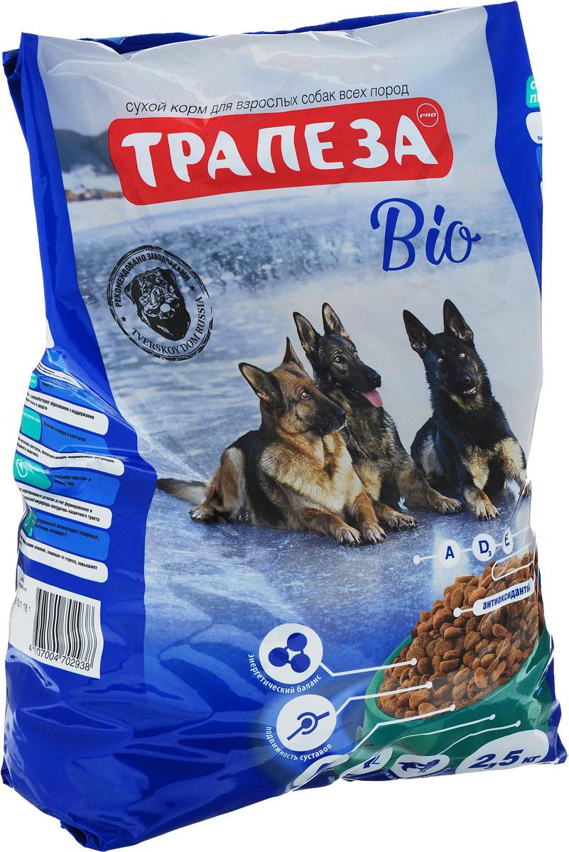 """Корм сухой Трапеза """"Био"""" для взрослых собак всех пород, 2,5 кг"""