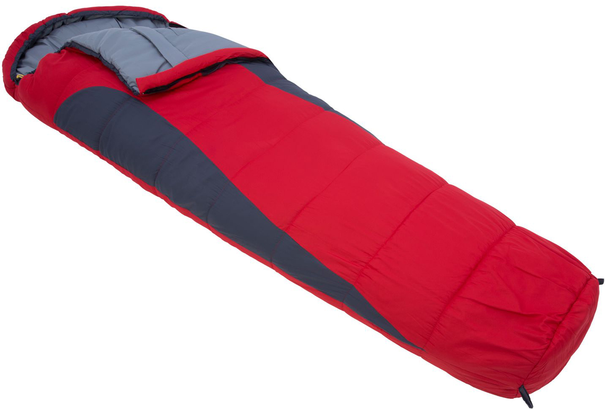 Мешок спальный Regatta Hilo 300, цвет: красный, левосторонняя молния, 220 x 80 x 40 смRCE018Конусообразный спальник обеспечивает максимальное сохранение тепла. Однослойное наполнение для равномерного распределения наполнителя по всему спальнику.Мягкая подкладка для комфортного ночного сна.Двусторонняя молния для легкого доступа изнутри и снаружи.Внутренний карман для хранения ценных вещей.Утепленная планка молнии для предотвращения потери тепла.Утепленная верхняя часть на уровне плеч для минимизации потери тепла и предотвращения попадания холодного воздуха.Компрессионный мешок минимизирует размер упаковки. Минимальный размер удобен при транспортировке.Температурный режим в соответствии со стандартом EN13537 : комфорт + 3°С, предел - 2°С, экстремальная -18°С.Размер 220х80х40 см, вес 1,75 кг.Идеально подходит для туризма, фестивалей и семейного отдыха.