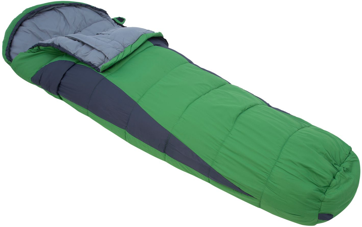 Мешок спальный Regatta Hilo 250, цвет: зеленый, левосторонняя молния, 220 x 80 x 40 смRCE017Конусообразный спальник обеспечивает максимальное сохранение тепла. Однослойное наполнение для равномерного распределения наполнителя по всему спальнику.Мягкая подкладка для комфортного ночного сна.Двусторонняя молния для легкого доступа изнутри и снаружи.Внутренний карман для хранения ценных вещей.Утепленная планка молнии для предотвращения потери тепла.Утепленная верхняя часть на уровне плеч для минимизации потери тепла и предотвращения попадания холодного воздуха.Компрессионный мешок минимизирует размер упаковки. Минимальный размер удобен при транспортировке.Температурный режим в соответствии со стандартом EN13537 : комфорт + 7°С, предел + 2°С, экстремальная -12°С.Размер 220х80х40 см, вес 1,5 кг.Идеально подходит для туризма, фестивалей и семейного отдыха.