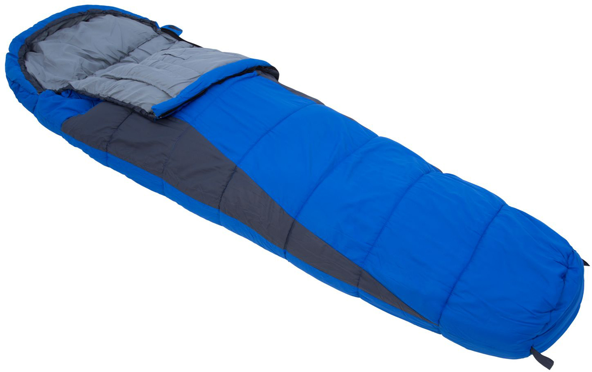 Мешок спальный Regatta Hilo 200, цвет: синий, левосторонняя молния, 220 x 80 x 40 смRCE016Конусообразный спальник обеспечивает максимальное сохранение тепла. Однослойное наполнение для равномерного распределения наполнителя по всему спальнику.Мягкая подкладка для комфортного ночного сна.Двусторонняя молния для легкого доступа изнутри и снаружи.Внутренний карман для хранения ценных вещей.Утепленная планка молнии для предотвращения потери тепла.Утепленная верхняя часть на уровне плеч для минимизации потери тепла и предотвращения попадания холодного воздуха.Компрессионный мешок минимизирует размер упаковки. Минимальный размер удобен при транспортировке.Температурный режим в соответствии со стандартом EN13537 : комфорт + 9°С, предел + 4°С, экстремальная -9°С.Размер 220х80х40 см, вес 1,2 кг.Идеально подходит для туризма, фестивалей и семейного отдыха.