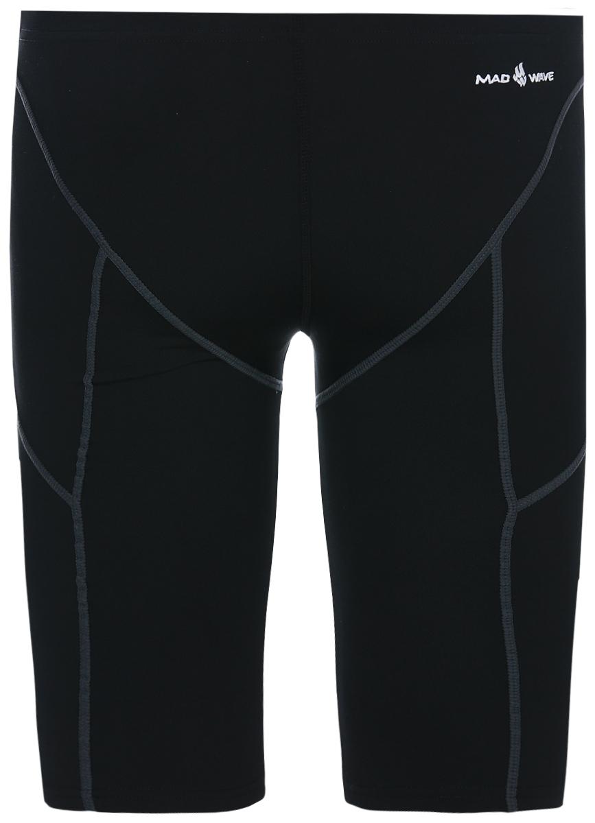 Плавки-джаммер мужские Mad Wave PBT, цвет: черный. M1431 02 4 01W. Размер M (48) MadWave