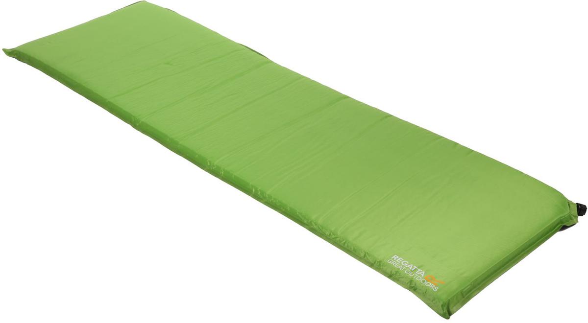 Коврик туристический самонадувающийся Regatta Napa 5 Mat, цвет: зеленый, 185 x 55 x 5 см