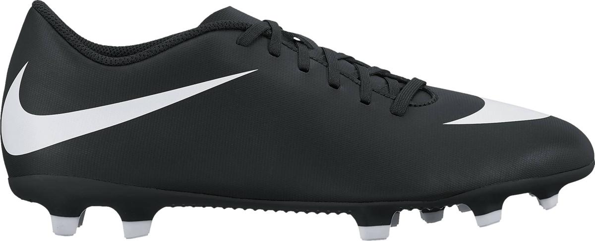 Бутсы мужские Nike Bravata Ii Fg, цвет: черный. 844436-001. Размер 10,5 (43,5) бутсы umbro geometra ii pro fg 13 шипов 80587u t2r черно бирюзовый