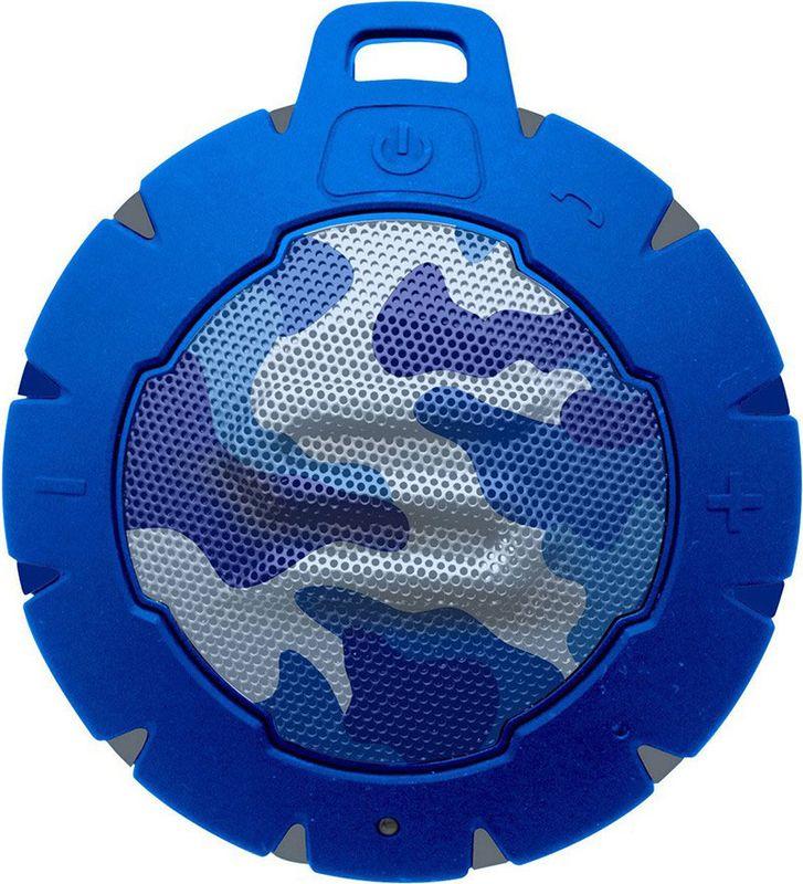 Soul Storm Camo, Blue портативная акустическая система