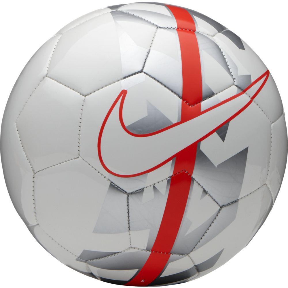 Мяч футбольный Nike React Football, цвет: белый, красный. Размер 5SC2736-100Nike React Football К ИГРЕ ГОТОВ. Яркая графика делает футбольный мяч Nike React хорошо заметным на поле, а конструкция, которая хорошо держит форму, обеспечивает превосходное касание. Конструкция из 26 панелей гарантирует точность траектории полета мяча. Бутиловая камера обеспечивает отличную амортизацию и превосходно удерживает воздух. Высококонтрастная графика упрощает слежение за траекторией и вращением. 6% РЕЗИНА 15% ПОЛИУРЕТАН 13% ПОЛИЭСТЕР 12% ЭВА