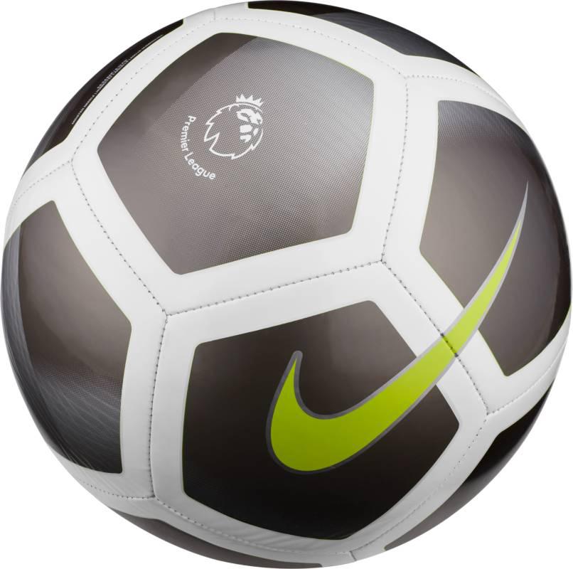 Мяч футбольный Nike Premier League Pitch Football, цвет: черный, белый. Размер 5 мяч футзальный nike premier х р 4
