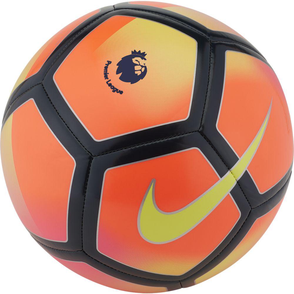 Мяч футбольный Nike Premier League Pitch Football, цвет: розовый, черный. Размер 5 мяч футбольный torres winter street 5 резина