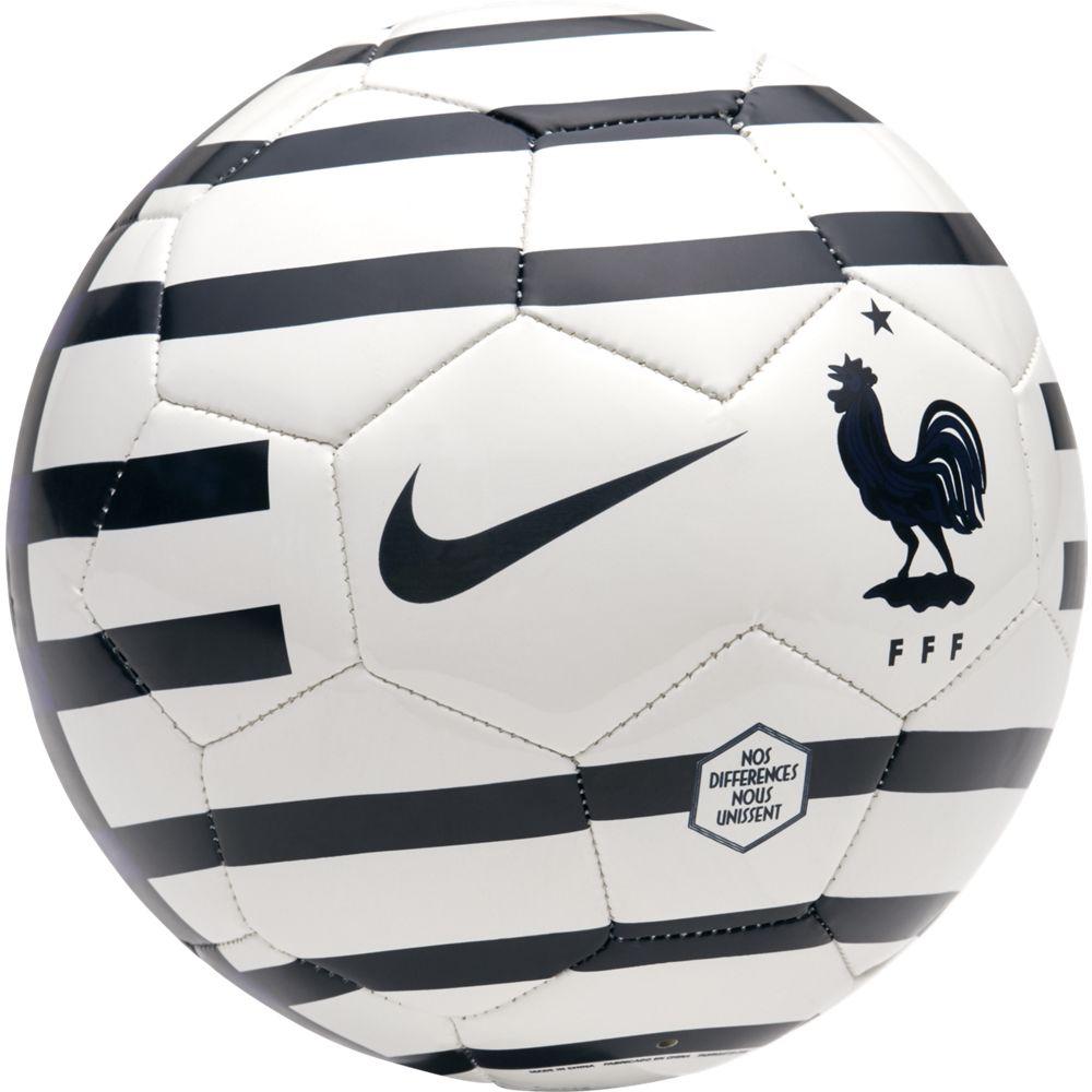 "Мяч футбольный Nike ""Portugal Skills Football"", цвет: белый, синий. Размер 1"