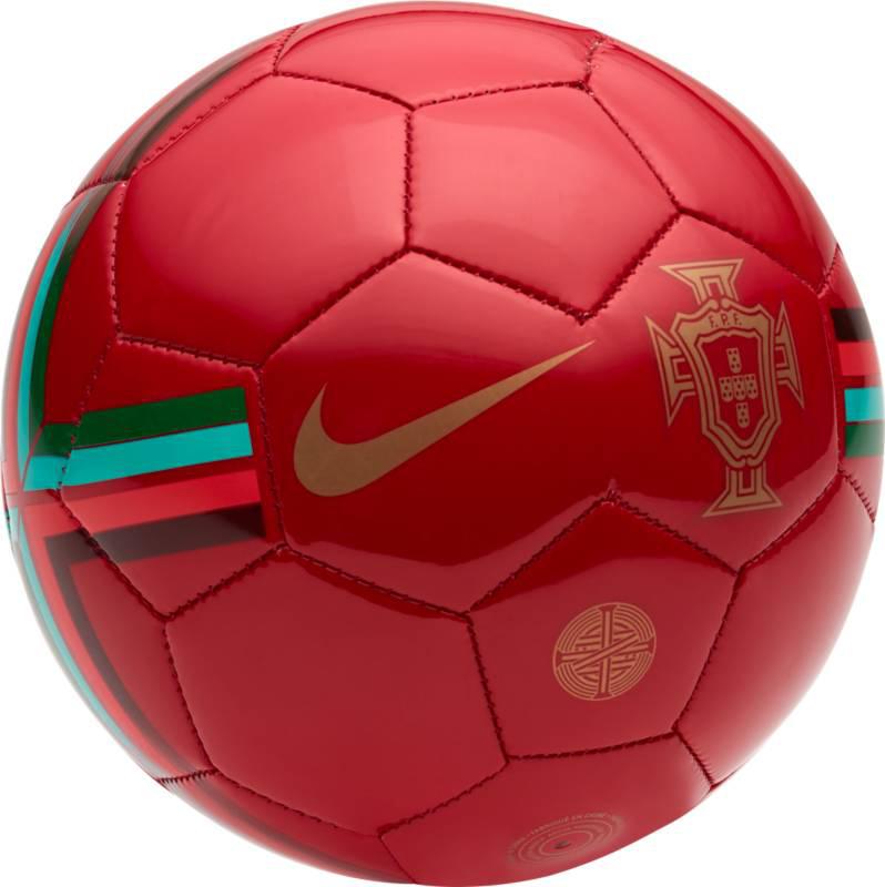"""Мяч футбольный Nike """"Fff Nk Skls"""", цвет: красный. Размер 1"""