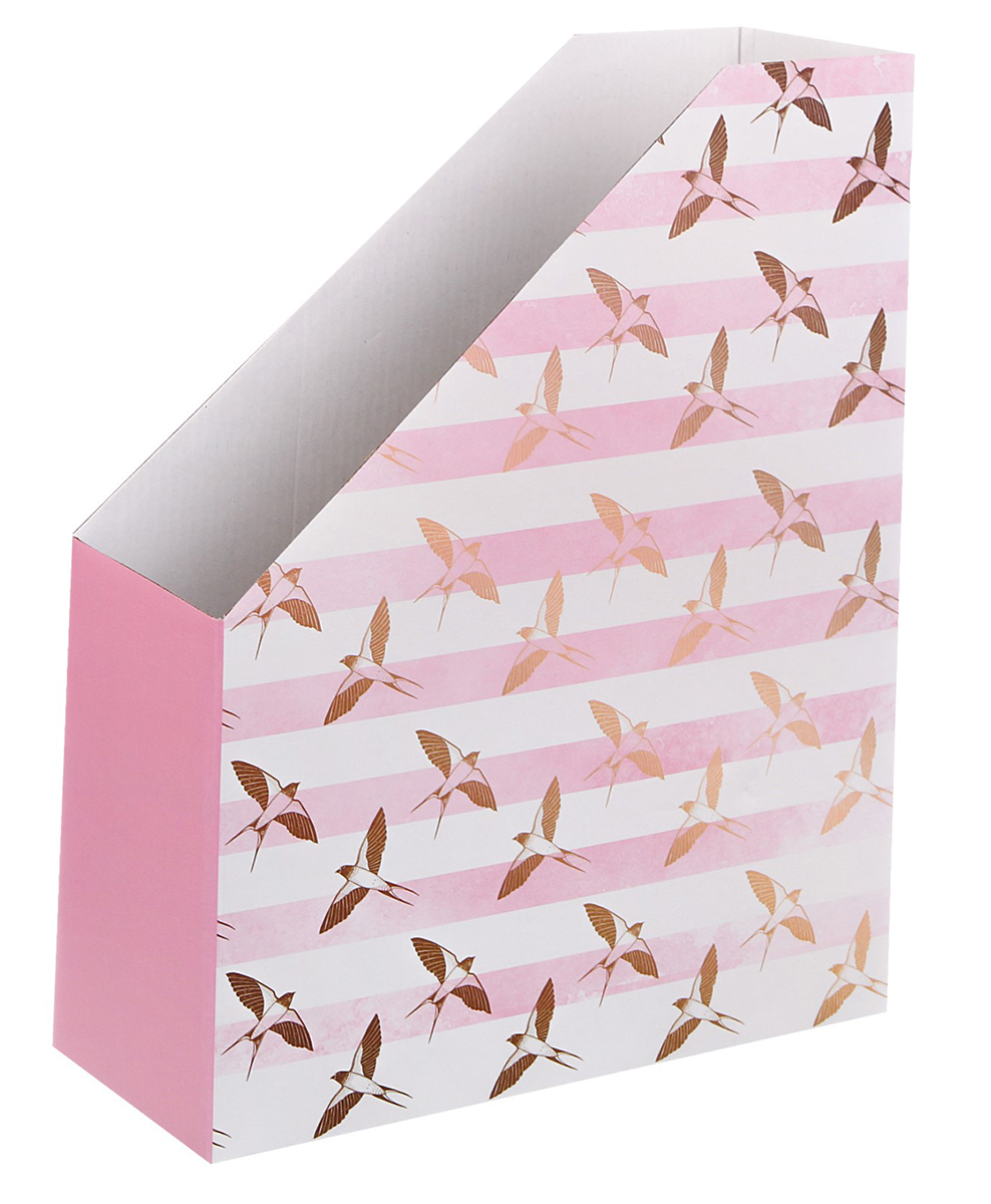 Арт Узор Органайзер для папок Полет ласточки 24,6 х 30,1 х 9,6 см - Лотки, подставки для бумаг