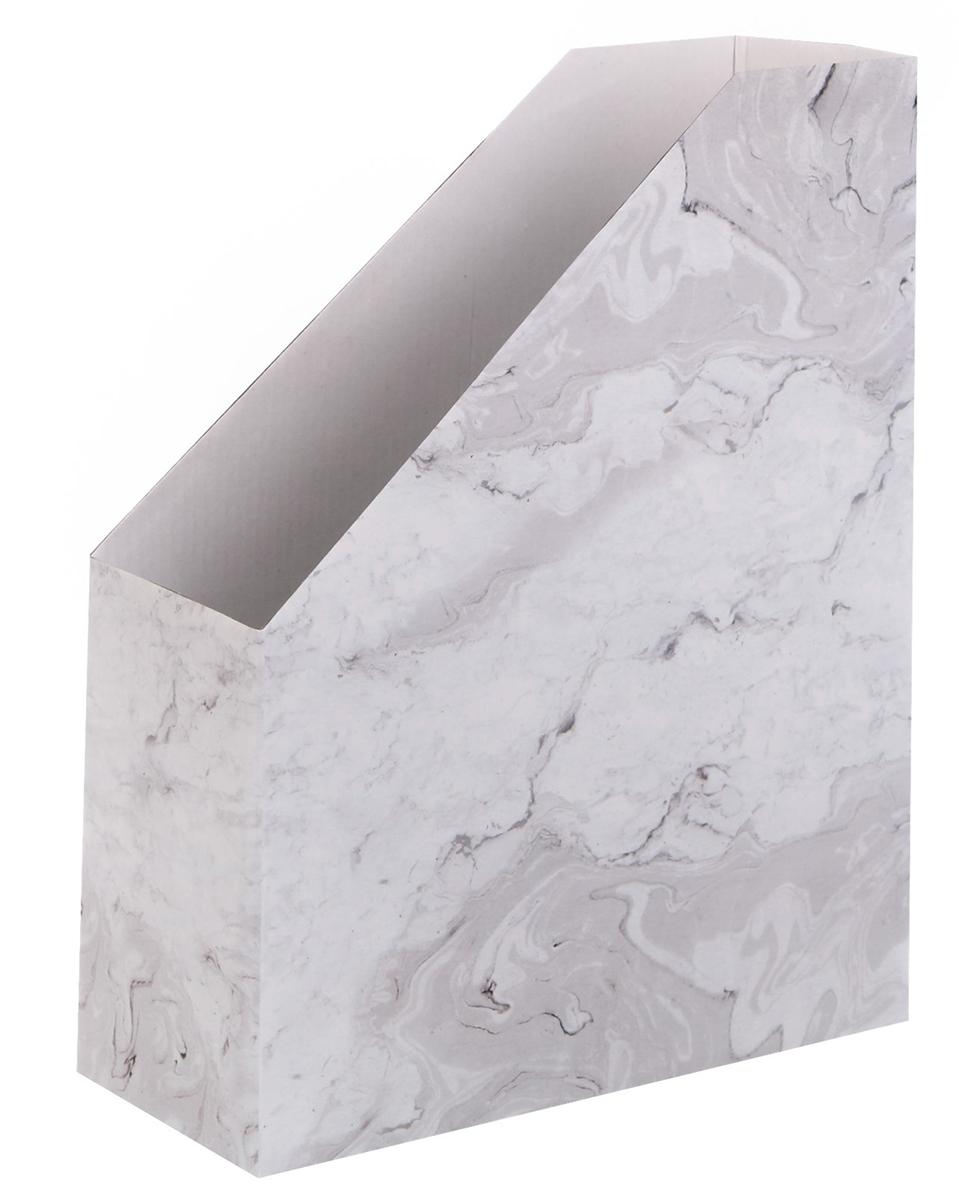 Арт Узор Органайзер для папок Мраморный 24,6 х 30,1 х 9,6 см -  Лотки, подставки для бумаг