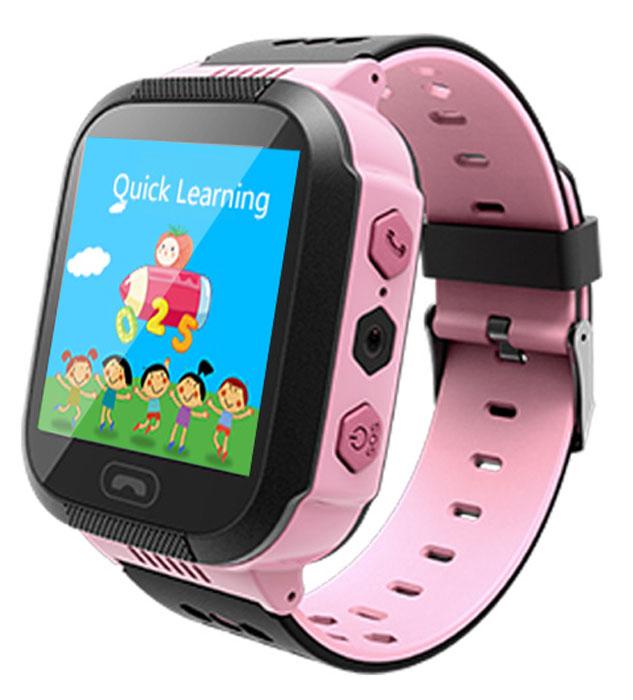 Prolike PLSW300PK, Pink умные детские часы купить часы смартфон в эльдорадо в уфе