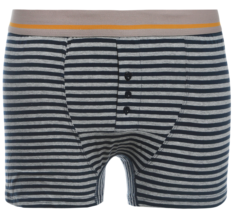 Купить Трусы-боксеры мужские Sela, цвет: серый. PUb-253/217-8132. Размер M (48)