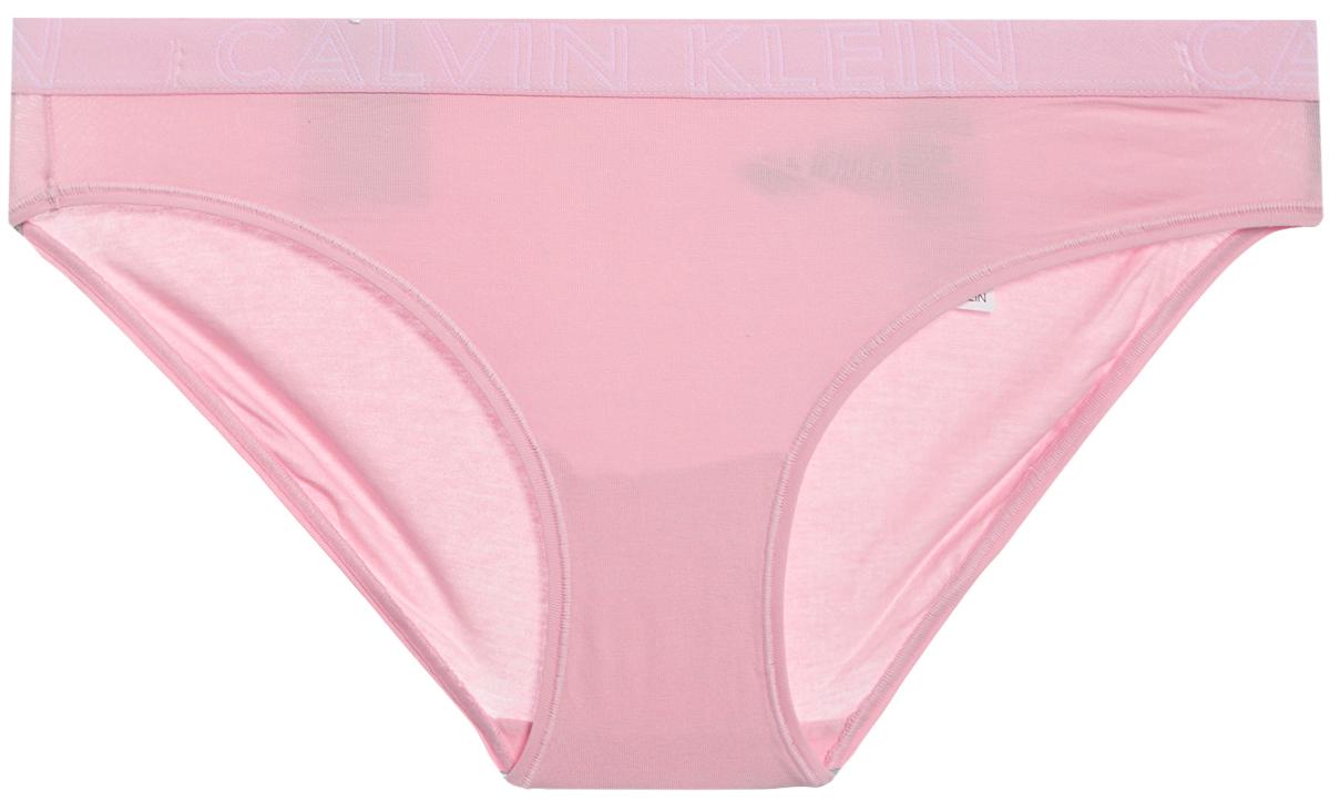 Трусы женские Calvin Klein Underwear, цвет: светло-розовый. QD3637E_EVK. Размер S (42) трусы женские calvin klein underwear цвет серый qf4530e pgr размер s 42