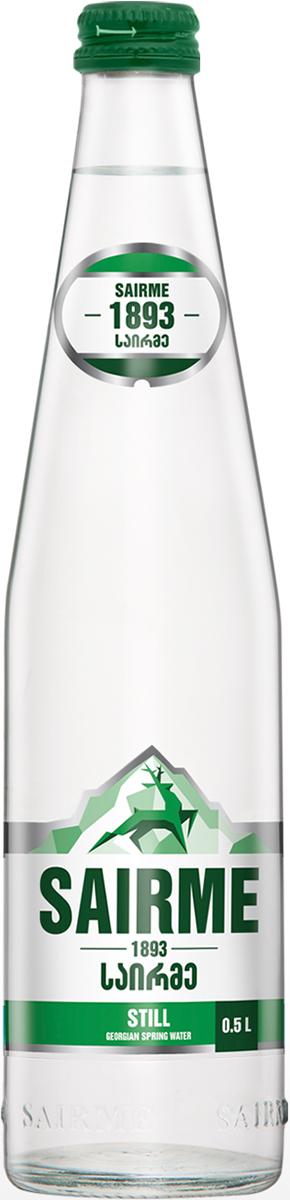 Саирме Вода негазированная питьевая родниковая, 0,5 л valio вода питьевая родниковая 0 5 л