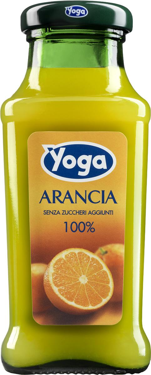 Yoga Сок апельсиновый восстановленный фруктовый, 0,2 л armajuice сок яблочный 0 33 л