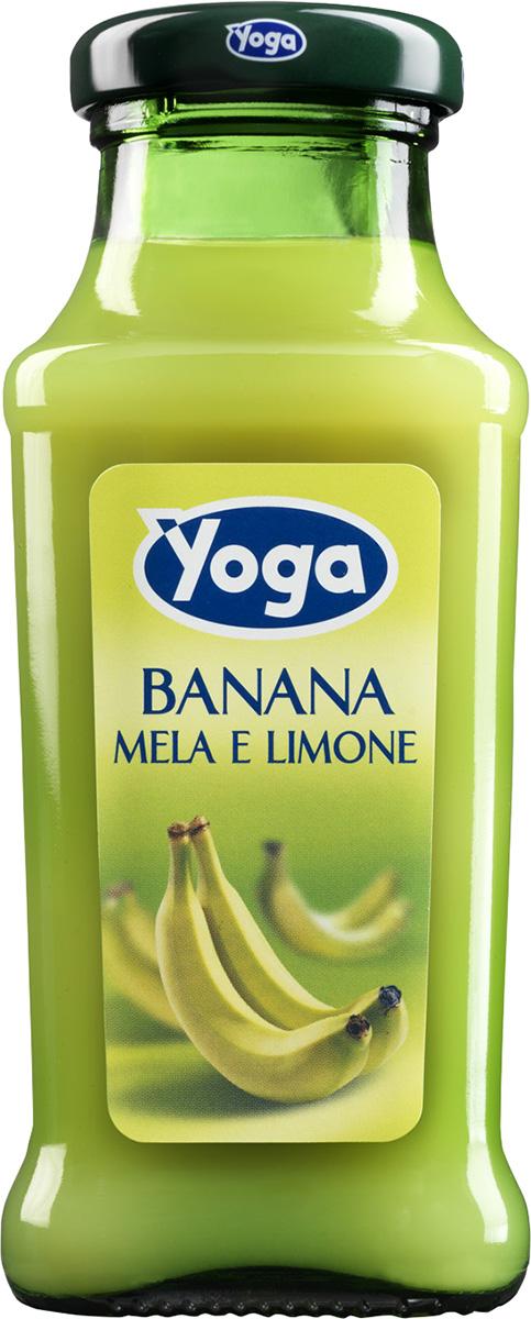 Yoga Нектар банановый фруктовый , 0,2 л миша нектар морковь яблоко 0 33 л