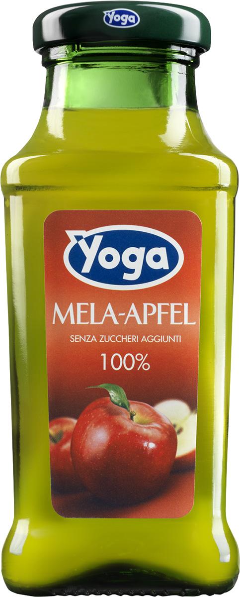 Yoga Сок яблочный восстановленный фруктовый, 0,2 л gold fish горбуша 245 г