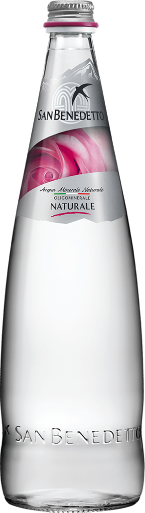 Сан Бенедетто Вода негазированная минеральная природная питьевая столовая, 0,75 л, стекло