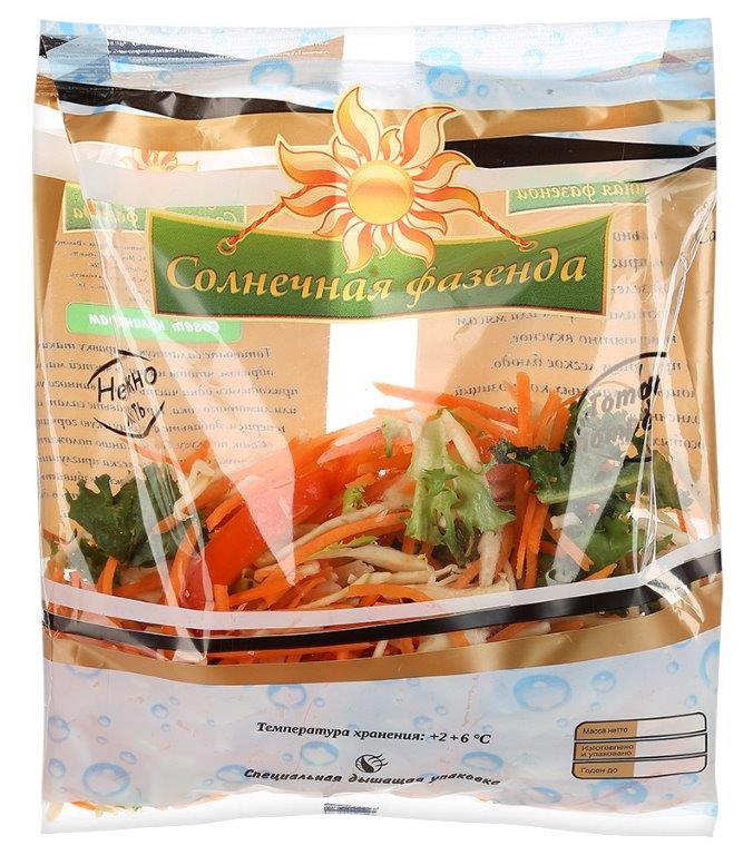 Солнечная Фазенда Салатный микс Каталония, 150 г ягодный микс голубика малина смородина 150 г