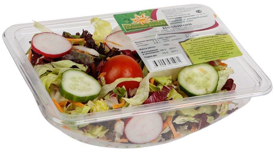Солнечная Фазенда Салат из овощей Весенний, 150 г солнечная фазенда салат из овощей тосканский 250 г