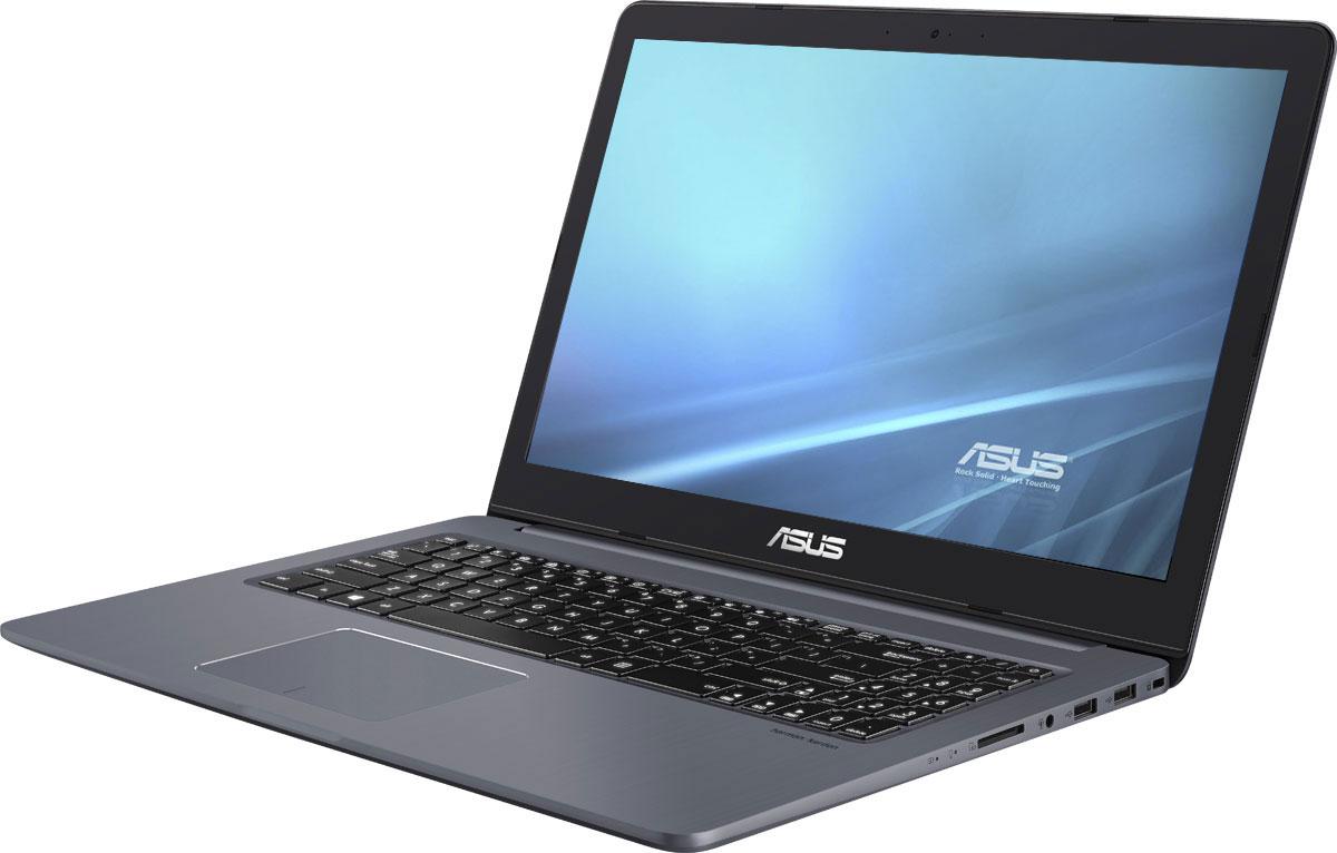 ASUS VivoBook Pro 15 N580VD, Gray (N580VD-DM494)N580VD-DM494ASUS VivoBook Pro 15 - это тонкий и легкий высокопроизводительный ноутбук, работающий набазе процессораIntel Core i5 7-го поколения.Корпус каждого экземпляра VivoBook Pro 15 вырезается с помощью фрезерования извысокопрочнойалюминиевой заготовки, и проходит серию сложных производственных процессов длядостижения своейокончательной гладкой и элегантной формы.Благодаря видеокарте NVIDIA GeForce GTX 1050 ноутбук VivoBook Pro 15 обеспечиваетбезупречную графику -поэтому он идеально подходит для игр, просмотра фильмов или редактирования видео. С еепомощью он легкосправится даже с самыми сложными задачами, требующими интенсивной обработкиграфических данных.VivoBook Pro 15 оснащен надежной системой охлаждения, обеспечивающей плавную истабильную работуноутбука в тяжелых приложениях или во время игровых марафонов. Продуманная конструкциясистемыохлаждения включает два вентилятора, скорость вращения которых может автоматическирегулироваться(доступно 8 скоростей) для максимальной эффективности охлаждения при минимальном шуме.В состав этойкомпактной системы охлаждения входят тепловые трубки, а каждый из вентиляторовуправляется независимодля высокоэффективного охлаждения центрального и графического процессоров.Ноутбук обладает великолепной аудиосистемой, разработанной совместно с компанией HarmanKardon.Мощные динамики с увеличенными акустическими камерами и интеллектуальным усилителемпозволилиреализовать качественное звучание в широком частотном диапазоне. Стереодинамики обладают двойнойкатушкой, благодаря чему достигается максимально громкий и четкий звук, на которыйспособно столь тонкое илегкое устройство. В результате аудиосистема данного ноутбука звучит более чем в три разагромче посравнению с устройствами аналогичного класса, а также обладает более широким частотнымдиапазоном длявоспроизведения насыщенных низких и высоких частот. Полноразмерная клавиатура VivoBook Pro 15 снабжена подсветкой, поэтому на этом ноутбукемож