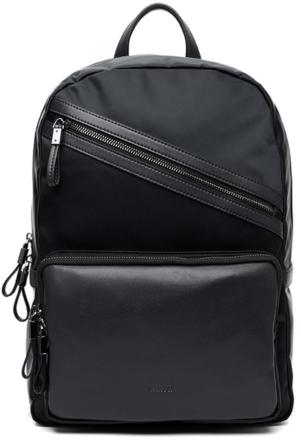 Рюкзак мужской Vitacci, цвет: черный. BJ0132 рюкзак мужской adidas classic bp tref цвет черный 26 л cw1716