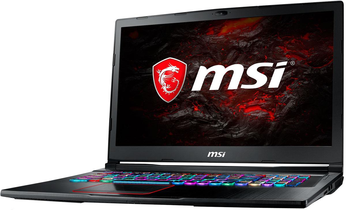 MSI GE73 8RF-093RU, BlackMSI GE73 8RF-093RU, BlackMSI GE73 - первый в мире ноутбук с независимой RGB-подсветкой клавиш и игровой клавиатурой Steelseries.Благодаря независимой подсветке клавиш вы сможете контролировать игровую статистику (уровень боекомплекта, здоровья, прочность инструмента и т.д.) прямо на клавиатуре и реагировать на действия соперников быстрее. Каждый нюанс этой клавиатуры продуман под профессионального геймера.Эргономичный дизайн, ход клавиш 1.9 мм, ясный отклик, оптимальная зона WASD, anti-ghosting для 45 клавиш и механическая защита делают клавиатуры ноутбуков MSI Gaming самыми удобными и надёжными в индустрии.Новейшая технология MSI Cooler Boost 5 отличается 2-мя модулями охлаждения, 2-мя вентиляторами Whirlwind Blade, 7-ю тепловыми трубками и 4-мя направлениями выхлопа. Интенсивность и эффективность отвода тепла оптимально согласованы с мощью установленных компонентов. Это позволило достичь повышенной производительности и сниженной температуры видеокарты.Новые гигантские динамики в составе первоклассной акустической системы Dynaudio позволят ощутить рёв моторов, взрывы и падения зданий в игре как никогда явственно. 2 динамика + 2 вуфера в независимых резонансных камерах создают невероятно реалистичное звучание аудиоэффектов.Стильный шлифованный алюминиевый корпус прекрасно подчёркивает эстетику и мощь этой игровой машины.Являясь единственными игровыми ноутбуками с дисплеем 120Гц/3мс, серия GE станет твоим надёжным компаньоном, который не даст упустить ни одной детали во время динамичного геймплея. Частота обновления экрана 120 Гц и цветопередача 94% NTSC обеспечили непревзойдённую реалистичность изображения и потрясающие ощущения от игрового процесса.Эксклюзивная технология MSI SHIFT выводит систему на экстремальные режимы работы, одновременно снижая шум и температуру до минимально возможного уровня. Переключаясь между пятью профилями, вы сможете достичь экстремальной производительности своей машины или увеличить время её работы от батарей. Ф