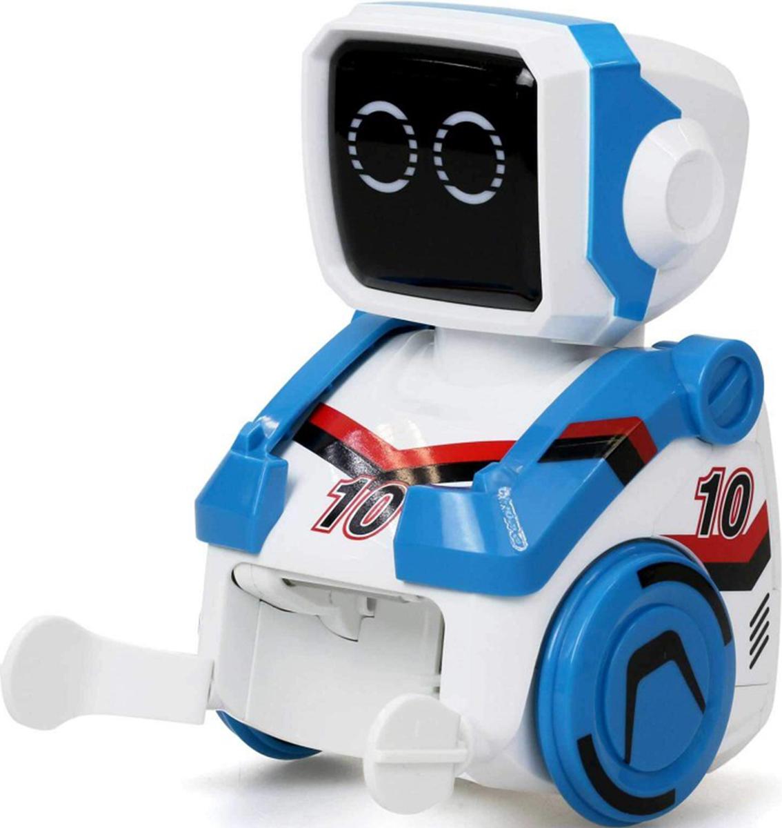 Silverlit Old School Робот футболист Кикабот цвет синий clippasafe clippasafe ворота безопасности металлические