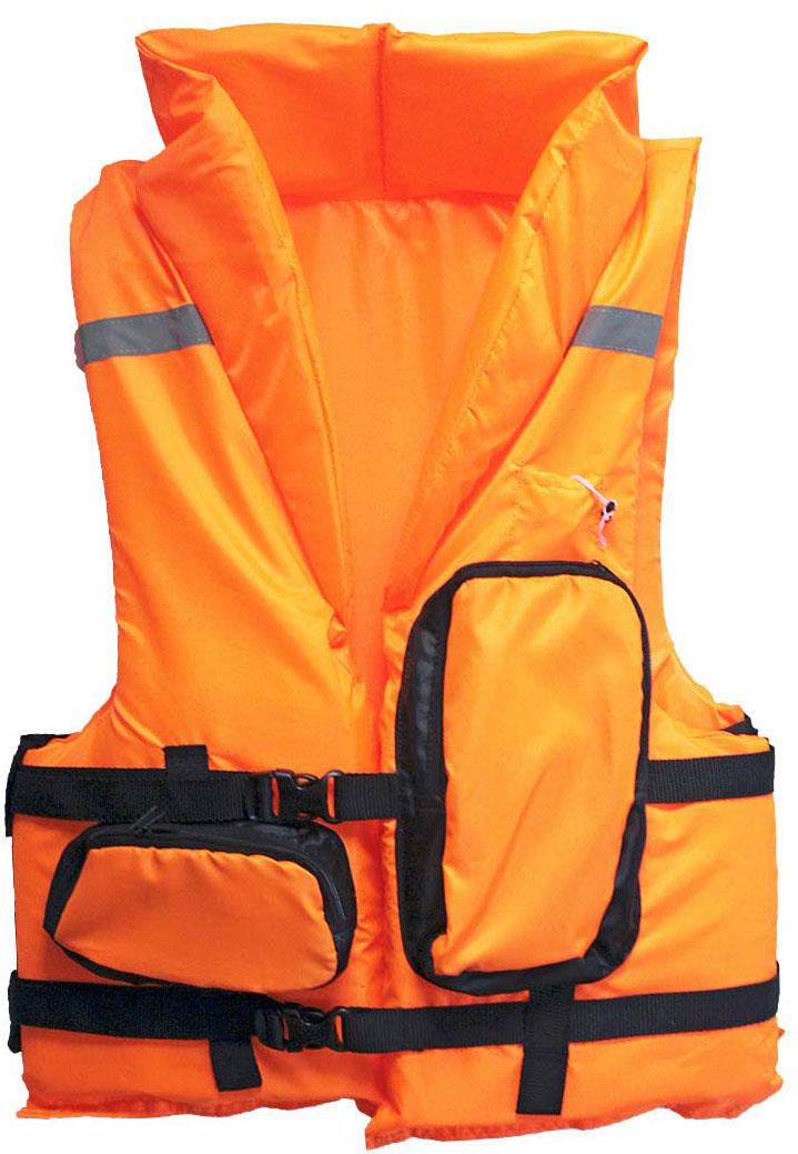 Жилет спасательный Таежник  Каскад-2 , цвет: оранжевый. Размер 52-56 - Спасательные жилеты