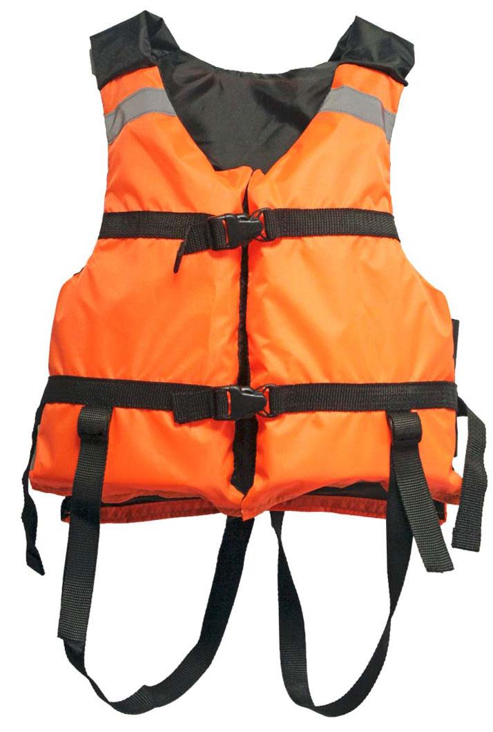 Жилет страховочный Таежник  Поплавок-2 , детский, цвет: оранжевый - Спасательные жилеты