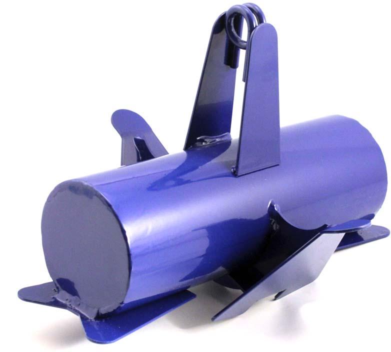Якорь лодочный ЯЛ-04 предназначен для удержания плавсредства на месте стоянки.Якорь состоит из: стального корпуса, 4-х грунтозацепов и кронштейна для крепления троса.Благодаря большой тяжести якоря (вес 6 кг) и наличия 4-х грунтозацепов, якорь может эффективно использоваться на водоёмах с различной скоростью течения и рельефом дна.Размеры якоря: 296х244х207мм.Чехол для якоря в комплекте.