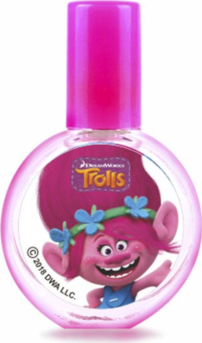 Trolls Детская душистая вода Розочка, 23 мл понтипарфюм душистая вода для детей lovely teddy 15мл