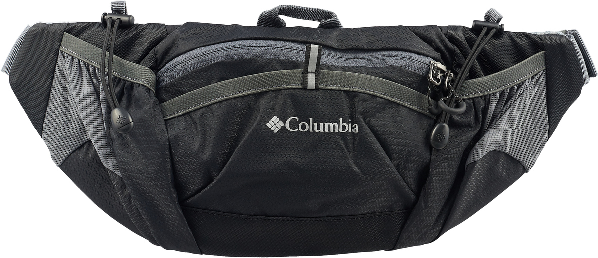 Сумка на пояс Columbia Outdoor Adventure Lumbar Bag, цвет: черный, 2 л. 1724711-010