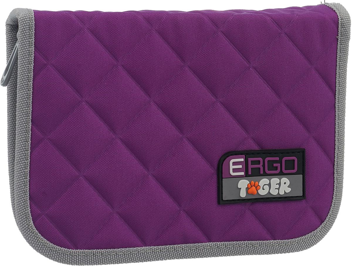 Tiger Family Пенал цвет фиолетовый 1742D latitude подвесной светильник latitude beton bolti grey aluminum