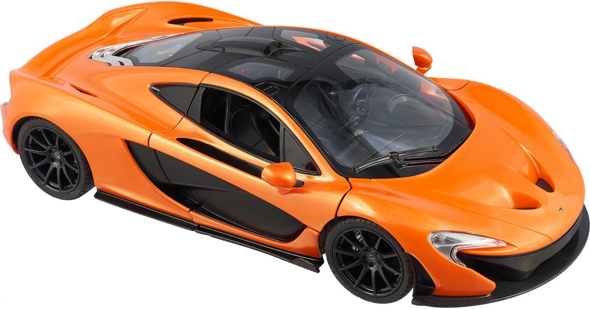 Rastar Радиоуправляемая модель McLaren P1 масштаб 1:14 цвет оранжевый rastar радиоуправляемая модель mclaren p1 масштаб 1 14 цвет желтый