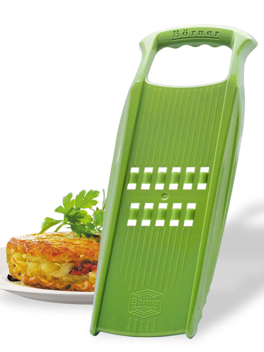 Рести-терка Borner Prima, цвет: салатовый