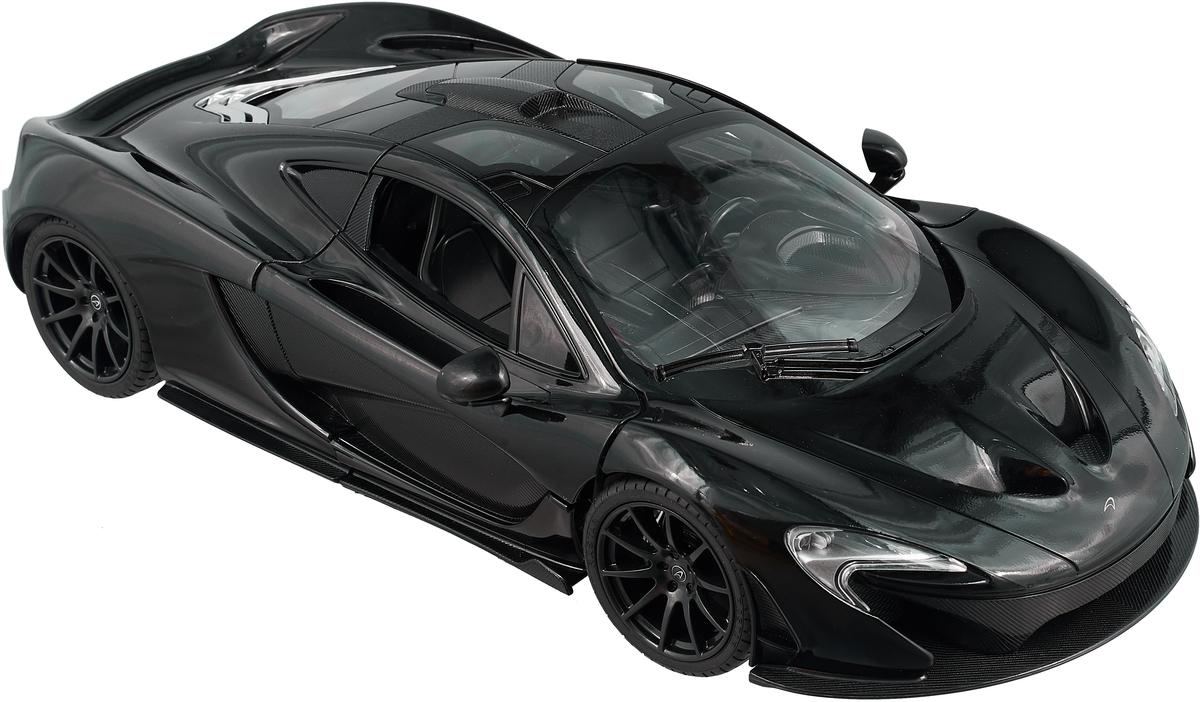 Rastar Радиоуправляемая модель McLaren P1 масштаб 1:14 цвет черный rastar радиоуправляемая модель porsche cayenne turbo цвет белый масштаб 1 14
