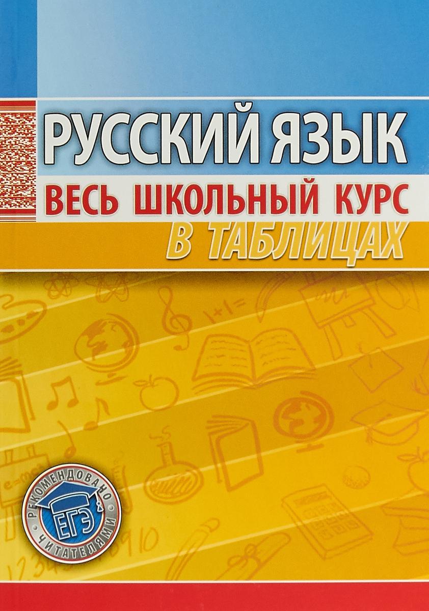 купить Петкевич Л.А Русский язык. Весь школьный курс в таблицах по цене 142 рублей