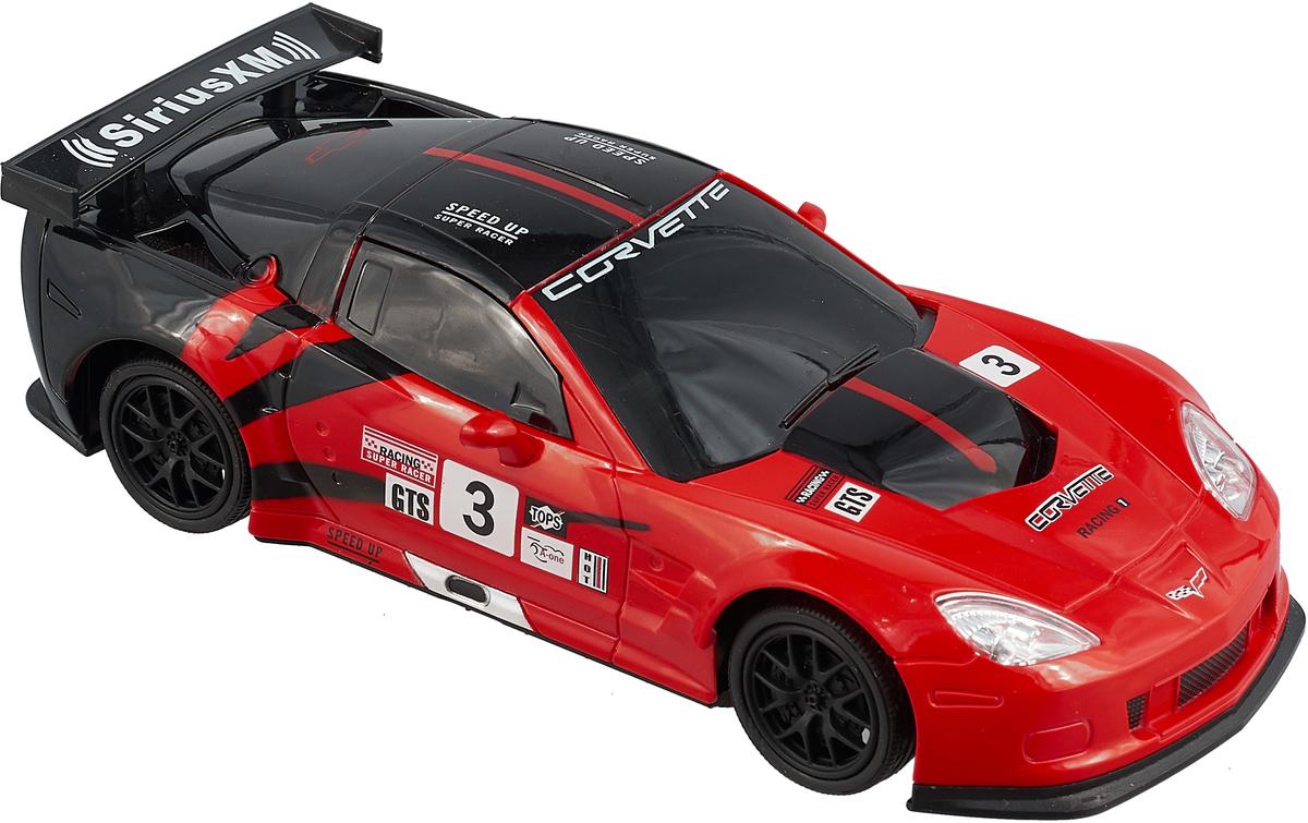 Hoffmann Модель автомобиля Chevrolet Corvette C6R масштаб 1:24 цвет красный черный рыжий кот модель автомобиля chevrolet corvette c6 r