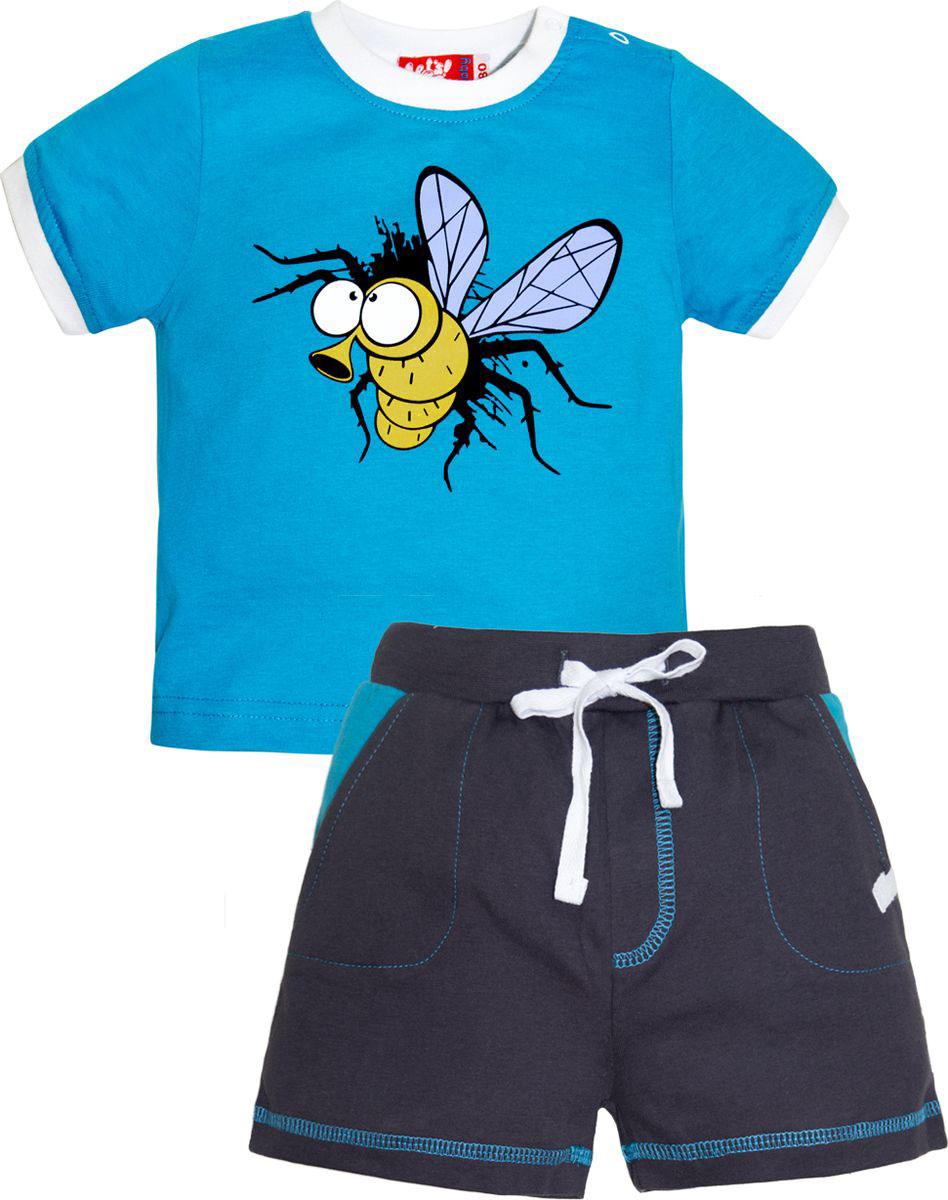Комплект одежды для мальчика Let's Go: футболка, шорты, цвет: бирюзовый, серый. 4228. Размер 86 sitemap 36 xml