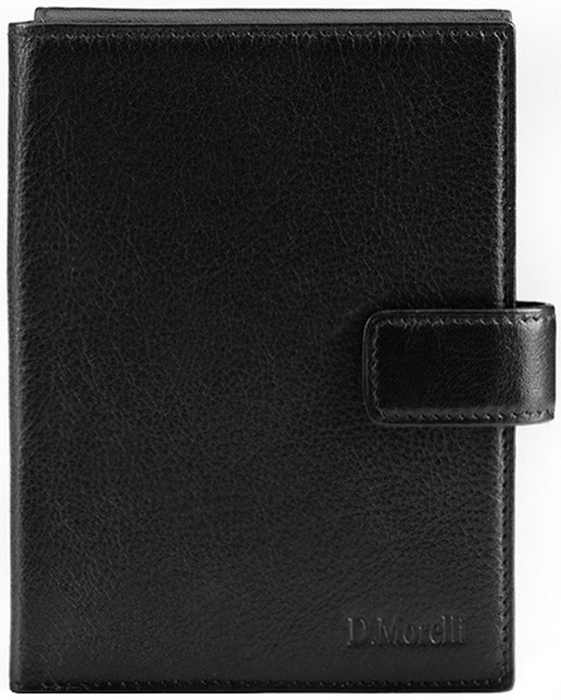 Бумажник водителя мужской D. Morelli, цвет: черный. DM-BP01-K001