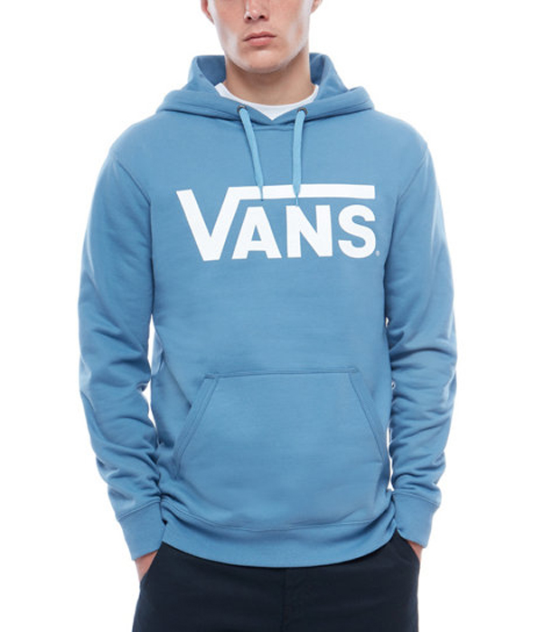 Худи мужское Vans Classic Pull, цвет: синий. V00J8NPII. Размер M (48/50)  - купить со скидкой