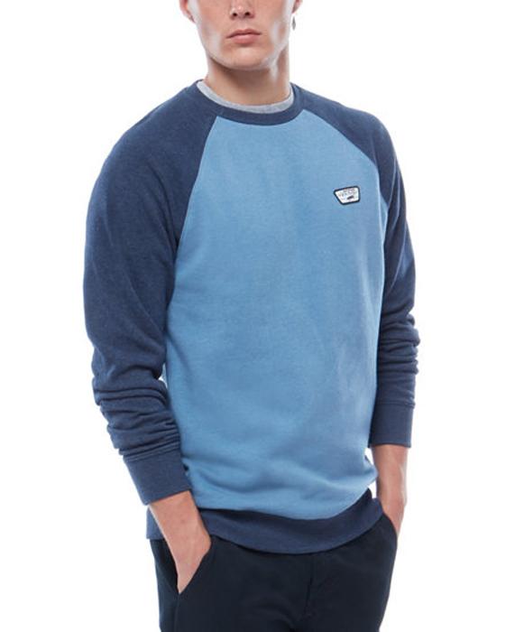 Купить Свитшот мужской Vans Rutland Ii Copen, цвет: синий. VA314PPEE. Размер M (48/50)